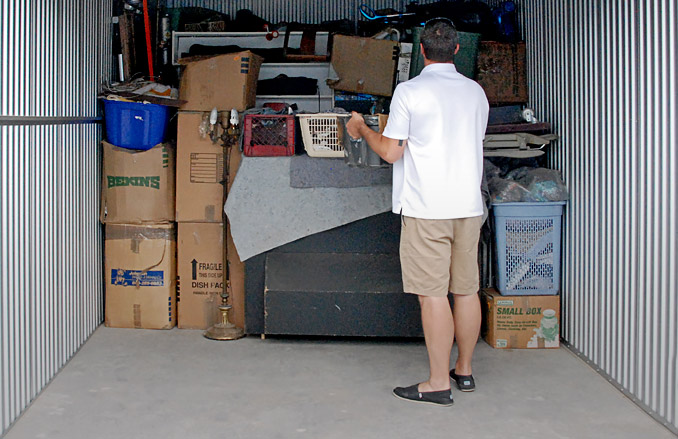 Self Storage Keeps You Organized And Your Home Clutter Free